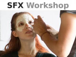 SFX Workshop Maskenteile kleben
